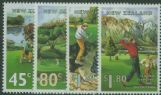 NZ SG1861-4 New Zealand Golf Courses set of 4